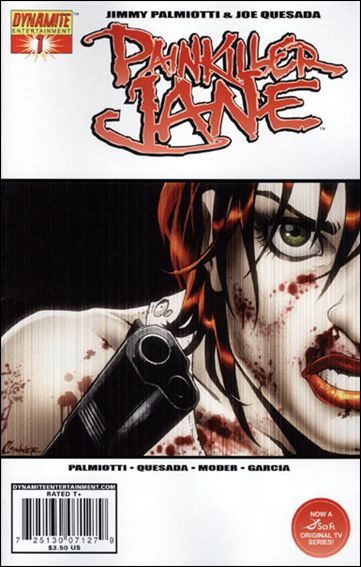 Painkiller Jane (2007) 1-D by Dynamite Entertainment