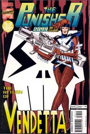 Punisher 2099 (1993) 33-A by Marvel