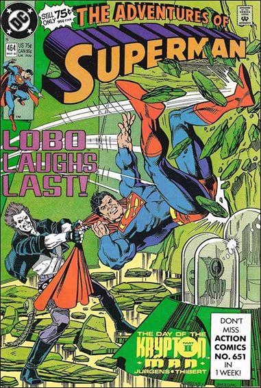 Adventures of Superman (1987) 464-A by DC