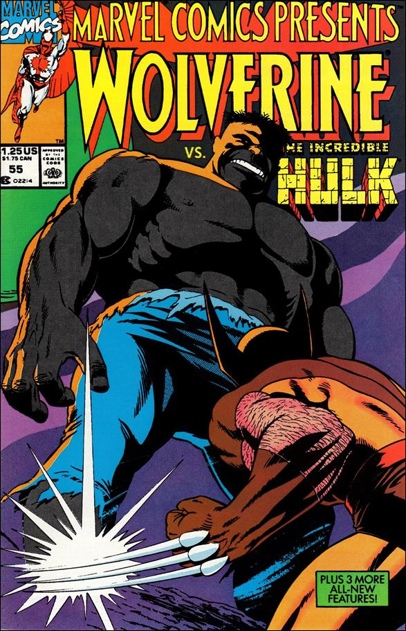 Marvel Comics Presents (1988) 55-A by Marvel