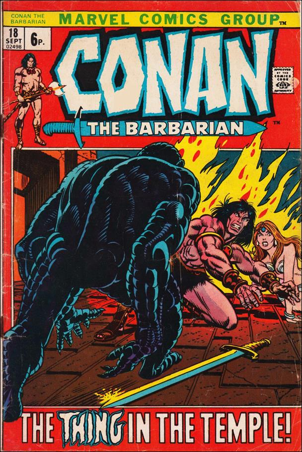 Conan the Barbarian (1970) 18-B by Marvel