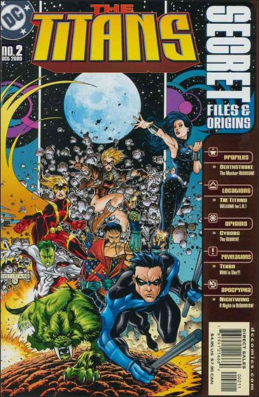 Titans Secret Files 2-A by DC