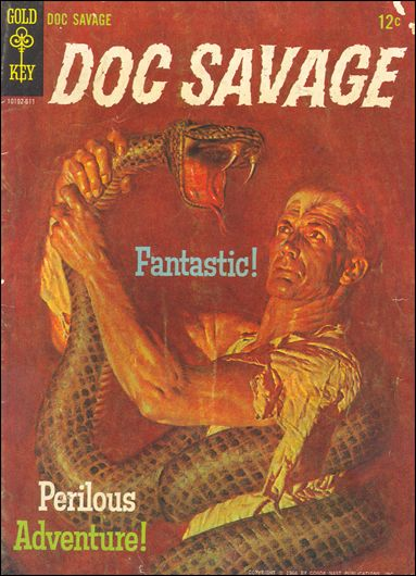 Doc Savage (1966) 1-A by Gold Key