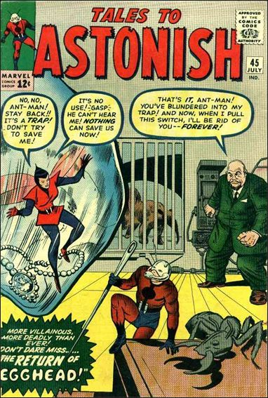 Tales to Astonish (1959) 45-A by Marvel