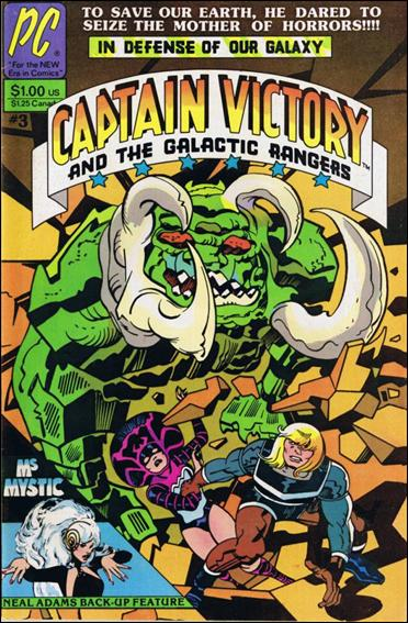 Captain Victory and the Galactic Rangers (1981) 3-A by Pacific Comics