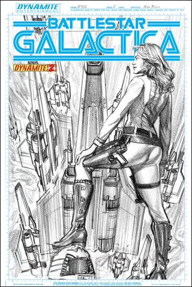 Battlestar Galactica (2013) 2-B by Dynamite Entertainment