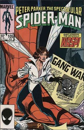 Spectacular Spider-Man (1976) 105-A