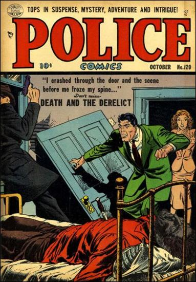 Police Comics 120-A by Comic Magazines