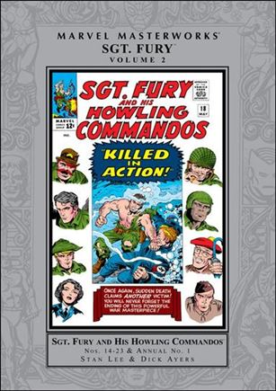 Marvel Masterworks: Sgt. Fury and His Howling Commandos 2-A