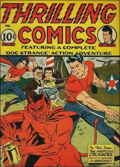Thrilling Comics (1940) 33-A by Standard