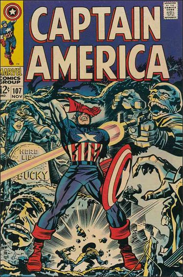 Captain America (1968) 107-A by Marvel