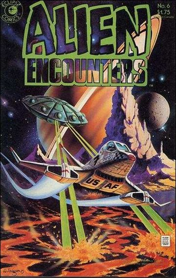 Alien Encounters (1985) 6-A by Eclipse