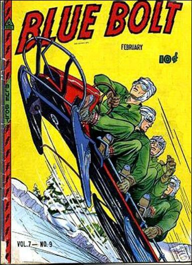 Blue Bolt (1946) 9-A by Novelty Press