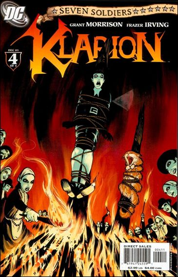 Seven Soldiers: Klarion the Witch Boy 4-A by DC