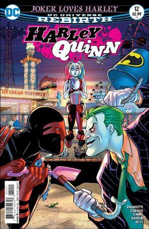 Harley Quinn (2016) 12-A