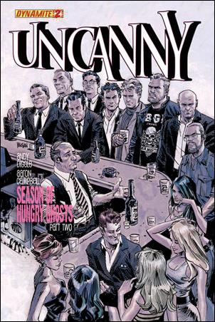 Uncanny 2-B by Dynamite Entertainment