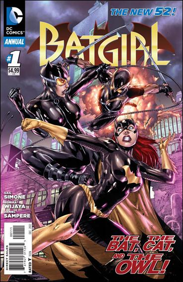 Batgirl Annual (2012) 1-A by DC