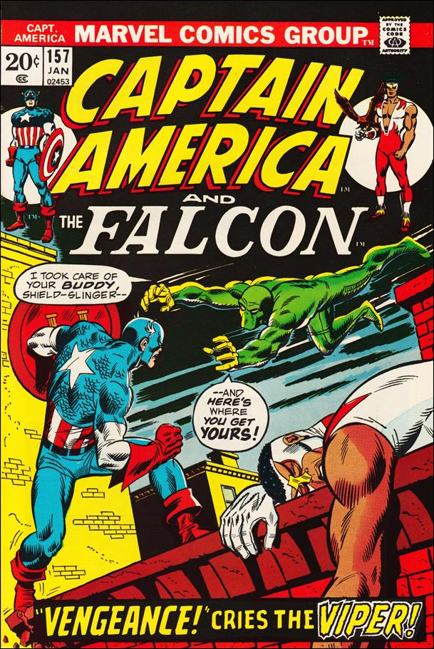 Captain America (1968) 157-A by Marvel