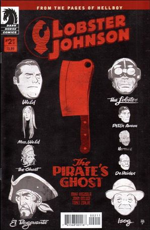 Lobster Johnson: The Pirate's Ghost 2-A