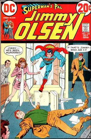 Superman's Pal Jimmy Olsen 153-A