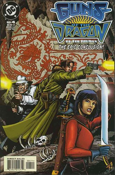 Guns of the Dragon 4-A by DC