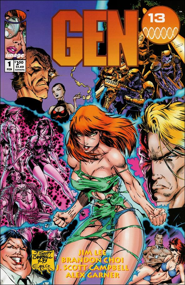 Gen13 (1994) 1-A by Image