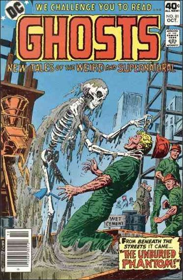 Ghosts (1971) 81-A by DC