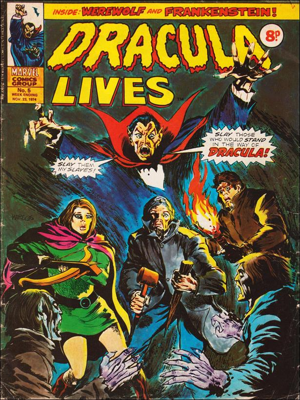 Dracula Lives (UK) 5-A by Marvel UK