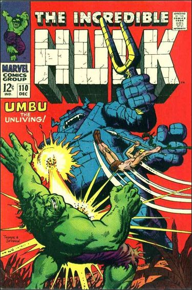 Incredible Hulk (1968) 110-A by Marvel