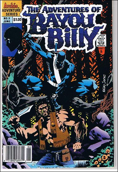 Adventures of Bayou Billy 5-A by Archie