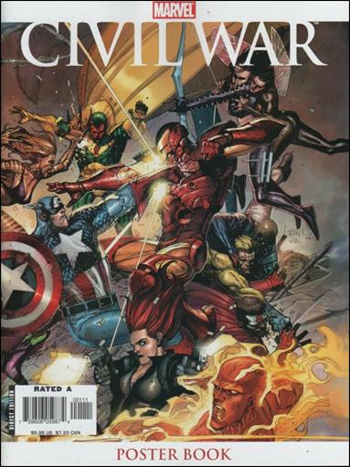 Civil War Poster Book nn-A by Marvel