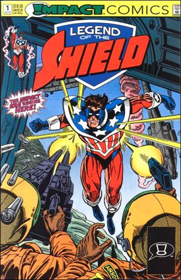 Legend of the Shield 1-A by Impact Comics