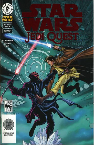 Star Wars: Jedi Quest 1-B by Dark Horse
