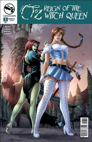Grimm Fairy Tales Presents Oz: Reign of the Witch Queen 5-A