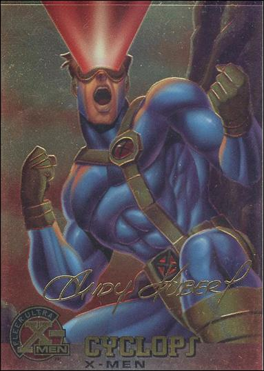 1995 Fleer Ultra X-Men All Chromium (Gold Signature Parallel Base Set) 5-A by Fleer