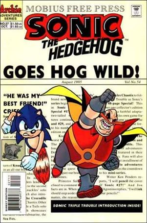 Sonic the Hedgehog (1993) 27-A