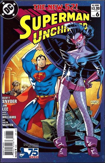 Superman Unchained 6-G by DC