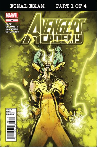 Avengers Academy 34-A by Marvel