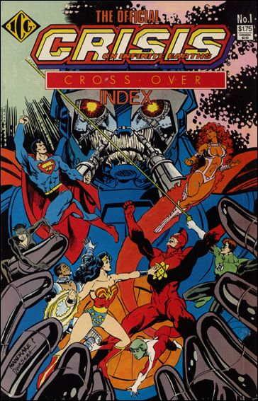 Official Crisis on Infinite Earths Crossover Index 1-A by ICG