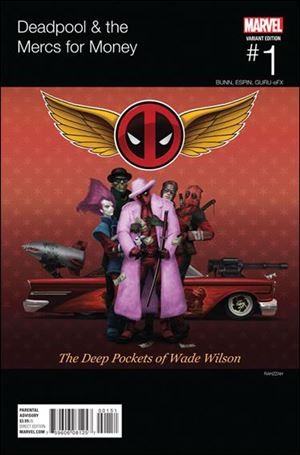 Deadpool & The Mercs for Money 1-D