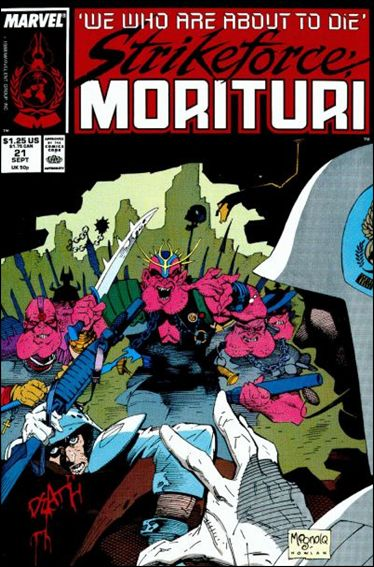 Strikeforce: Morituri 21-A by Marvel