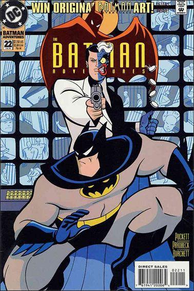 Batman Adventures (1992) 22-A by DC