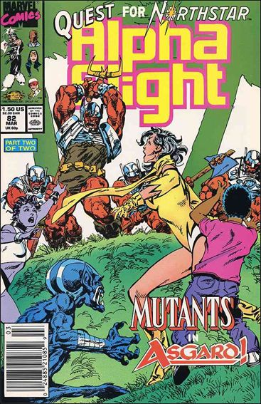 Alpha Flight (1983) 82-A by Marvel