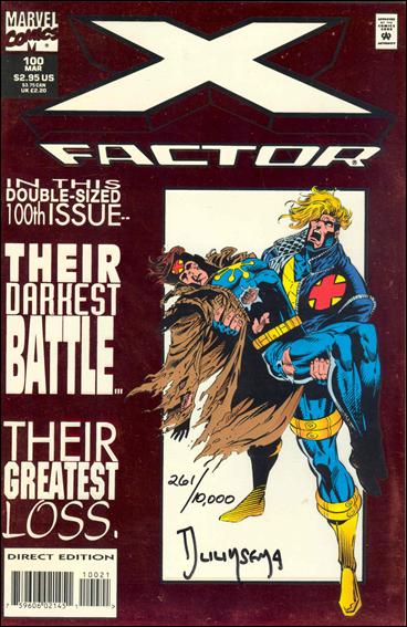 X-Factor (1986) 100-D by Marvel