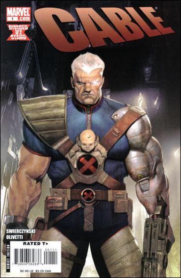 Cable (2008) 1-A by Marvel