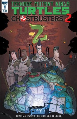 Teenage Mutant Ninja Turtles / Ghostbusters 2 1-A