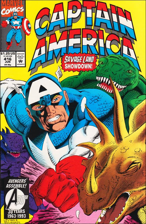 Captain America (1968) 416-A by Marvel