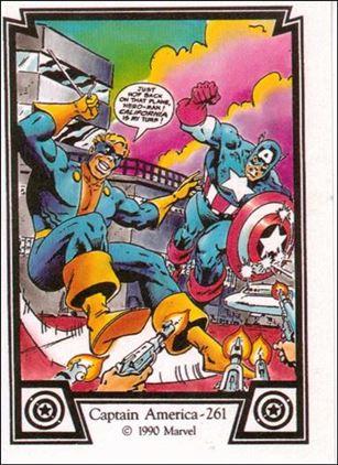 Captain America (Base Set) 30-A
