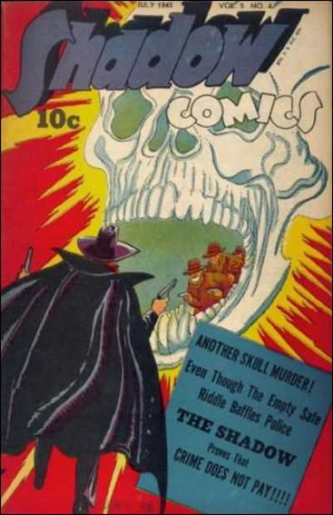 Shadow Comics (1945) 4-A by Street and Smith Publications