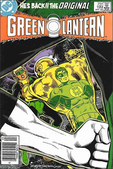 Green Lantern (1960) 199-A by DC